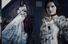 'High Fashion' Paolo Roversi for Vogue Italia September 2012 [Editorial] - Fashion Copious