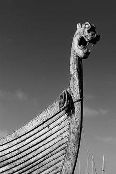 Viking ship prow.                                                       …