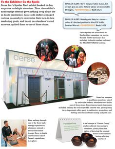 EXHIBITOR magazine - Article: Case Study: Happy Endings; Derse Inc.