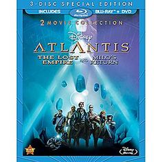 Venture under the sea into an amazing world of excitement and exploration with <i>Atlantis: The Lost Empire</i> and its sequel <i>Atlantis: Milo's Return</i>, together for the first time on Blu-ray!