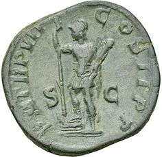 Severus Alexander / Mars standing left - Sesterz British Sweets, Mars, Roman, Bronze, Personalized Items, March