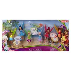"Disney Fairies The Pirate Fairy 4.5"" Pixie Gem Collection Doll 6pk"