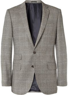 J.Crew Slim-Fit Glen Plaid Wool-Blend Suit Jacket sur shopstyle.fr