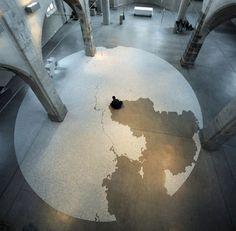 Amazing installation of Motoi Yamamoto