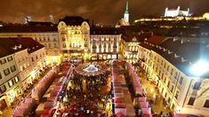 CHRISTMAS IN BRATISLAVA - YouTube
