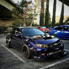 The Subaru Impreza is presently a real rally icon that everybody recognises! Subaru Impreza is most likely one of the absolute most sought-after cars on Tuner Cars, Jdm Cars, Sti Hatchback, Subaru Impreza Sti, Jdm Subaru, Road Pictures, Offroad, Street Racing, Mercedes