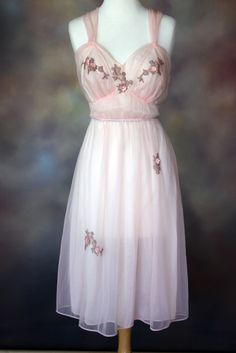 Was a vintage nightgown for sale, but it sold.