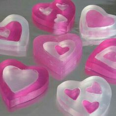 Ideas diy soap melt and pour fun craft tutorials Homemade Soap Recipes, Homemade Gifts, Diy Gifts, Semi Homemade, Disney Valentines, Valentine Day Crafts, Valentine Heart, Diy Savon, Soap Melt And Pour
