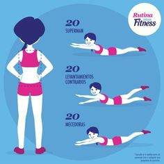 Imagem de fitness, exercise, and workout Cardio, Pilates Workout, Gym Workouts, Yoga Fitness, Health Fitness, Pilates Video, Workout At Work, Yoga Positions, Outdoor Workouts