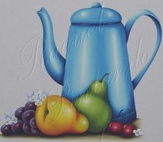 Watering Can, Kettle, Canning, Teapot, Drop Cloths, Butterflies, Fruit Painting, Wine Cellars, Cooking