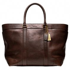 COACH tote bag, usually not a COACH kinda guy, but would reconsider for this one.