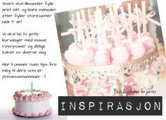Barnebursdagskaker til jente (inspirasjon)!