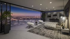 The interior renders are just as fascinating, but even the most carefully selected appointments could never hold a candle to the view itself. Could you imagine having such an impressive vantage point over the city? Now imagine what it would look like from the pool!