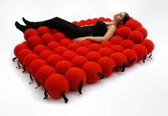 The Feel Deluxe – A Very Unique Seating System Made Of Balls, $7950