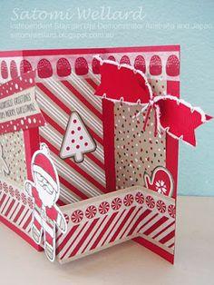 Satomi Wellard-Independent Stampin'Up! Demonstrator Australia and Japan, #stampinup, #su, #satomiwellard, #cardmaking, #papercrafing , #handmade, #Christmascard, #christmasprojects, #stampin, #zholdcard, #christmastag,