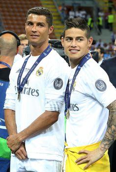 Cristiano Ronaldo & James Rodríguez