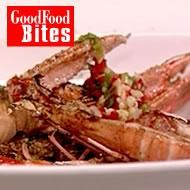 Langoustines with chilli and lime