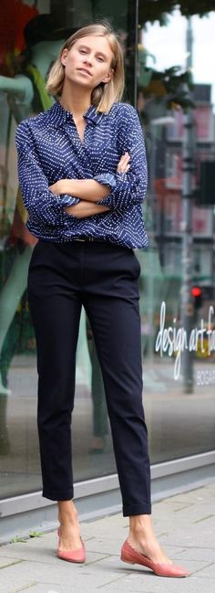 #Casual #Work #Outfits Casual Office Attire Or What To Wear To Work 2018 #flatsoutfitwork