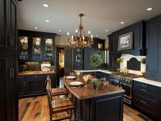 Kitchen Designs by Ken Kelly Wood Mode Kitchens Long Island Nassau Suffolk Queens. Great contrast, but seems too dark.