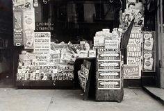 freestanding newsstand new york 1930s - Google Search