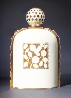 "This was auctioned on my birthday in ""Sevres,"" a SEVRES perfume bottle for Sauze Freres, circa in ivory colored porcelain, with gilt detail. Art Nouveau, Art Deco, Lalique Perfume Bottle, Antique Perfume Bottles, Vintage Bottles, Bottle Art, Bottle Crafts, Beautiful Perfume, Bottles And Jars"