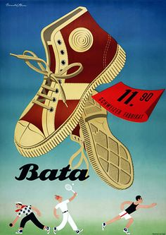 Vintage Advertising Posters | Shoes