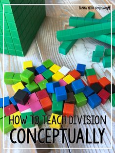 Learn how to teach division conceptually rather than having your students memorize a formula. Tips for teaching division are included! These tips can easily be implemented in your 4th grade or 5th grade classroom.