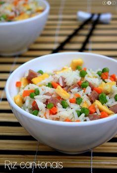 Riz cantonais maison : la recette facile