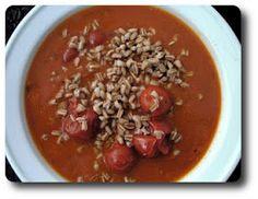 Tomatsuppe med Perlespelt