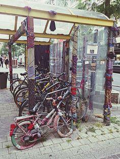 http://www.eyeem.com/p/40913205 #luxembourg #bicycle #streeart