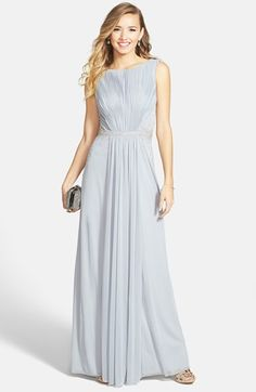 JS+Boutique+Drape+Matte+Jersey+Chiffon+Dress+available+at+#Nordstrom