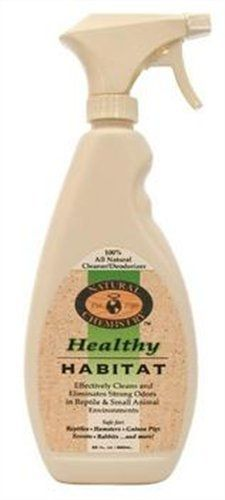 Healthy Habitat Natural Enzyme Bird Cage Cleaner for Glass Metal and Plastic Cages 24Ounce by Natural Chemistry >>> Click image to review more details.