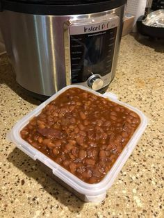 Baked Beans Dry Mustard, Saute Onions, Baked Beans, Pressure Cooking, Instant Pot, Stuffed Peppers, Baking, Recipes, Baby
