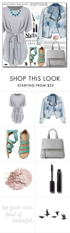 """""""SheIn Contest"""" by adnaaaa ❤ liked on Polyvore featuring MANGO, Givenchy, Chanel, PBteen, Jayson Home, Garance Doré and Emi Jewellery"""