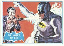Batman Cards - 1966 A Blue Bat #1