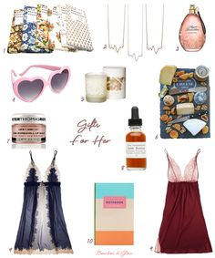 Girls and Guys! Don't miss the Valentine's Day Gift Guide for Her!