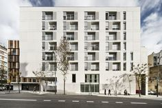 ONL, arquitectura · 154 Rental social housing and public building