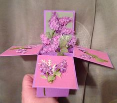 Lovely Lilacs 3/3 by Weezerb1 - Cards and Paper Crafts at Splitcoaststampers
