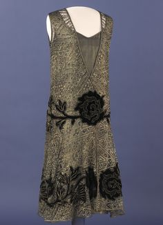 Grace Coolidge, first lady, dress  At the Smithsonian