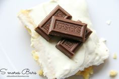 These S'mores Bars are perfection!!!  The best bars I've ever made!