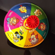 Vintage Toy Spin Top-- I had one of those many years ago