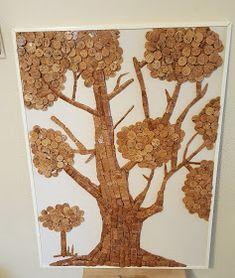 De Todo, Un Poco .: Arte con corchos Wine Cork Projects, Recycled Art Projects, Wine Cork Art, Wine Cork Crafts, Wine Bottle Corks, Bottle Art, Decor Crafts, Diy And Crafts, Arts And Crafts