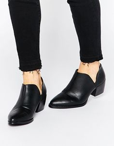Truffle Collection Margi Cut Out Ankle Boots