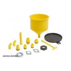 Spill-Free Lisle Funnel Heavy Duty for Garage/Shop/Car/Truck/Auto Oil Parts  #Lisle