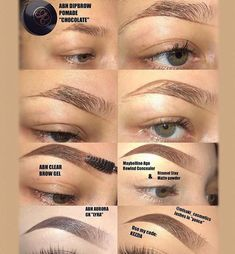 @ v a l e g d d ausformung bemalung maquillaje makeup shaping maquillage Eyebrow Makeup Tips, Makeup 101, Makeup Goals, Skin Makeup, Makeup Inspo, Makeup Inspiration, Makeup Brushes, Beauty Makeup, Makeup Eyebrows