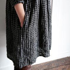Kaus Dress by Fog Linen Work