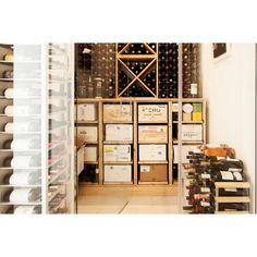 Wine lovers, do you have a wine storage in your house? #interior #interiordesign #desaininterior #winestorage #ruanganggur #ruangpenyimpanananggur #winelovers