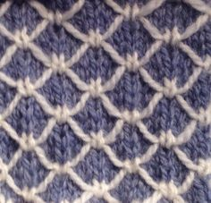 Quilted Knitting by englegarn, via Flickr