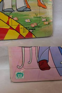当時物◆未開封ショウワノート キャンディキャンディ パズル55片いがらしゆみこ 昭和レトロ/古い/昔/アニメ/グッズ/おもちゃ/玩具/イラスト_画像3