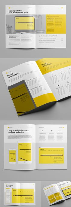 Proposal - Proposals & Invoices StationeryShareFacebook Google Plus Twitter Pinterest Add to Favorites Add to CollectionProposal and Portfolio TemplateMinimal and Professional Proposal Brochure template for creative businesses, created in Adobe …